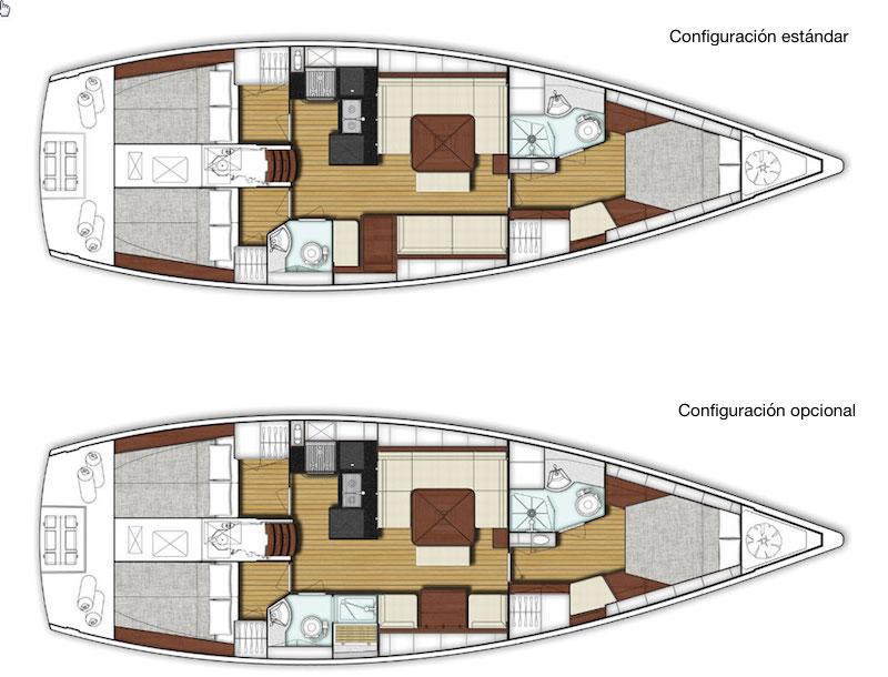 x-yachts Xc 45_disposición